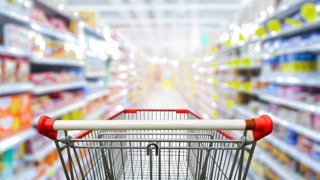 Tampone al supermercato